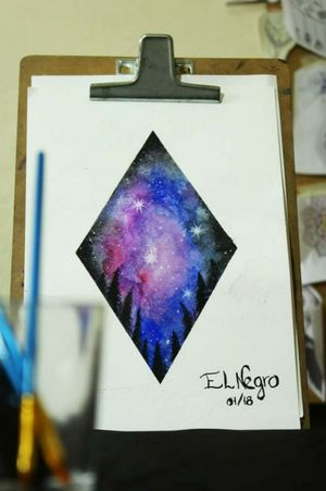 Galaxy by @mike_elnegro