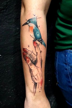 #hands #tattooart #tattooartist #bird #ozinktattoo