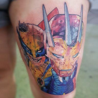 🔥 Horários disponíveis 🔥 🏢Rua Dr. Alfredo Barcelos, 16 - Olaria. ☎️ (21) 98145-2755 💻 guilhermesalles.mct@outlook.com 📩 Direct . . . #tattoo #tattooartist #ink #inked #tattooed #tattooist #tatuagem #nofilter #tattooflash #comics #comicstattoo #geek #geektattoo #nerd #fineline #finelinetattoo #wolverine #wolverinetattoo #ironman #marvel #marvelcomics #errejota #rj #riodejaneiro #brasil #brazil