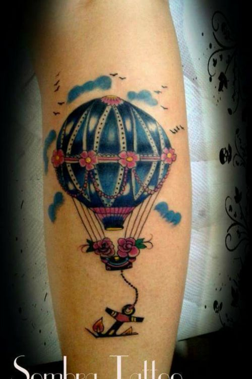 #balonnn#Sombra Tattoo Borborema SP
