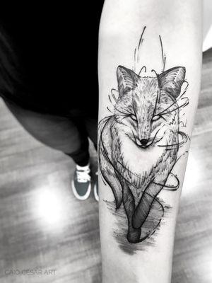 Fox . . #picoftheday #instaart #art #artsy #artista #tattooartists #blackwork #artists #blacktattoo #blackworkerssubmission #blackandwhite #blacktattooart #blacktattooartists #tattoo #tattooistartmag #tatuagemsp #tattooist #tattooer #tattooinkspiration #tattooink #equilattera #tattoo2me #tattooink #ink #tattoosp #btattooing #instaartist #blxckwork #tatuagem
