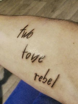 Two Tone Rebel - hommage to e-dubble Made at BeardinKrew in Amiens, France, by Saru.