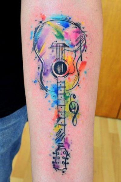 #guitar #music #tatoo