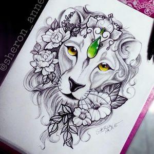 #lion #liontattoo #liondrawing #liontattoodrawing #leão #leaotattoo #flowerstattoo #flowerstattoodrawing #desenhodeleao #tattoodraw #tattoodrawing #sheronanne #sheronannetattoo #braziliantattooartist #Curitiba #Florianópolis #RiodeJaneiro #RJ #Brasil