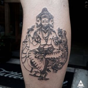 #ericskavinsktattoo #ericskavinsk #brahma #indu #india #linework #lineworktattoo #trabalhodelinha #Hinduism