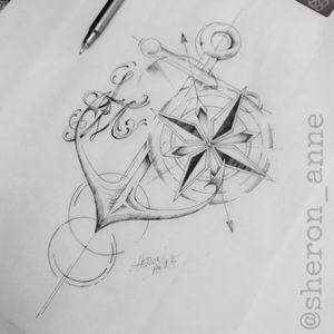 #anchor #anchortattoo #anchordrawing #sketch #sketchtattoo #compass #compasstattoo #fineline #finelinetattoo #finelinestyle #geometric #geometrictattoo #braziliantattooartist #braziliantattoo #womantattooartist #sheronanne #sheronannetattoo #Curitiba #Florianópolis #riodejaneiro #RJ #Brasil