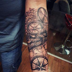 Essa foi a Tattoo do Rogerio, um trabalho bem legal de fazer, feito um 5 horas! 🤘🏼🤘🏼 Muito obrigado pela confiança! Artista: @marcos.lima.set.tattoo Materiais: @electricink Electric Ink Pen Site: www.settattoostudio.com Endereço: Avenida Benedito Rodrigues de Freitas, 210 - Centro - Igaratá - SP #tattoo #tattoos #tattooworkers #tatuagem #tatuaje #tattooartist #tattooprofessional #tattooart #ink #inked #tatoaggio #electricink #bussola #mapa #electricinkpen #inkmagazine #tattoosp #tattoodo #faithtattoo #tattoodobr #inkisart #tattooist #tattooguest #tattoo2me #tattoosp #instalike #tattoobr #settattoostudio #igarata