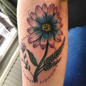 Flower scetch tattoo #flowertattoo #sketchtattoo