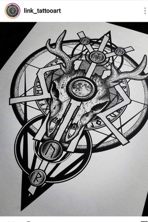 #skull #tatoo