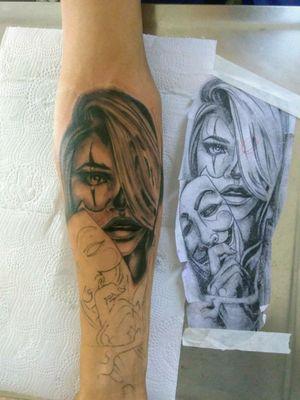 #Em andamento Sombra Tattoo Borborema SP