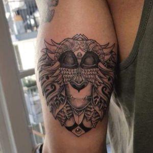 Rafiki #TheLionKing #monkey #tattooart