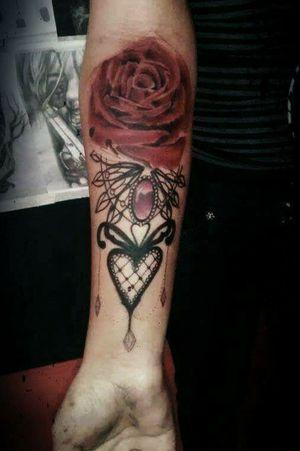 #rosa em andamento#Sombra Tattoo