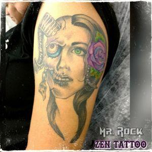 #tattoo #skull #skulltattoo #zentattoo #inklife #inklovers #instattoo  #instaink #tatuagem #tatuaje #tatouage #tatuaggio #tattoolife #tattoolovers #taquaritinga #taqua