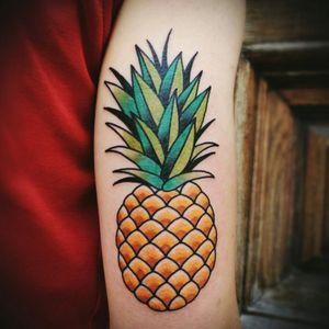 Oldschool Pineapple