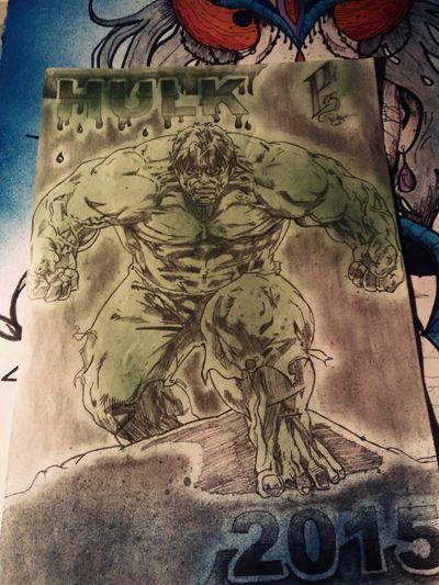 #hulk #draw #drawing #tattoo #p13art #2015