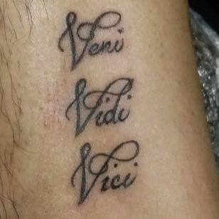 Veni vidi vici I came I saw I conquered