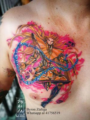 Shaka of virgo #byronzuñiga #tattoo #royalpaintattoo #guatemala #geektattoo #saintseiya