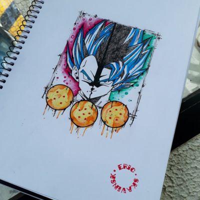 Arte disponível para tatuar. 55.11.9.9377-6985 . . #ericskavinsktattoo #ericskavinsk #tatuadorbrasileiro #saopaulo #sp #011 #dragonballtattoo #dragonball #animeinspired #animetattoo #anime #aquarelle #aquarelatattoo #watercolortattoos #watercolortattoo #watercolor #aquarela #sketchtattoo #sketchstyle #sketch #Sketching #colortattoo #colorful #fullcolortattoo #fullcolors