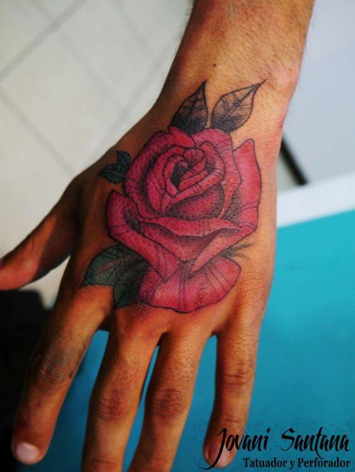 #rosa #flor #flortattoo #ink #inked #solidink