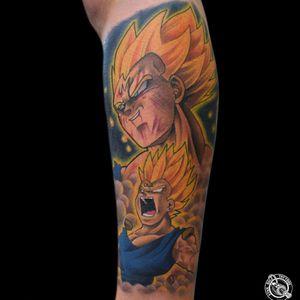 #Vegeta #tattooart #tattooartist #fullcolortattoo #dbztattoo #legtattoo #CostaRicaTattoo #art #artist