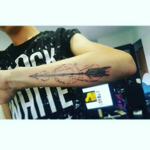 #first #tatto #arow #tatto