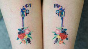 #Zihee #gun #flowers #peace