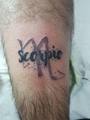 #scorpio #zodiactattoo