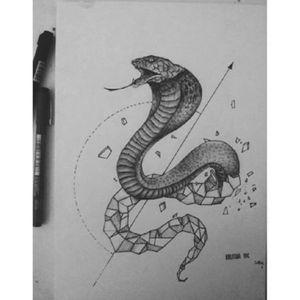 Tattoo idea by me #tattoo #tattooart #tattoodrawing #tattooidea #cobra #cobratattoo #snaketattoo #snake