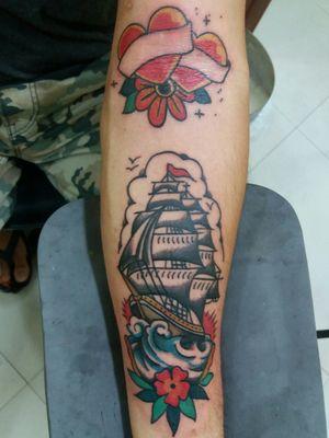 Old School... #tatuagem #tattooartist #tattooart #tattooed #illustration #tattoogirl #tatuaje #arte #brasil #londres #london #artist #art #artwork #blacktattoo #blackwork #ink #inked #tattoo #design #instagood #tattoomasculina #rj #art #artist #sketch #draw #drawing #pencil #beautiful #sketchbook #tattoos #artwork