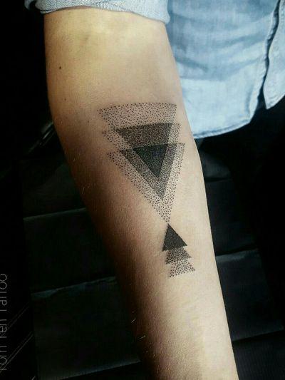#dotwork #blackwork #sacredgeometry #geometric #geometry #dot #mandala #pattern #patterntattoo #mandalatattoo #dotworktattoo #blackworktattoo #geometrictattoo #sacredgeometrytattoo #sacredgeometric #dottattoo #triangletattoo #triangle