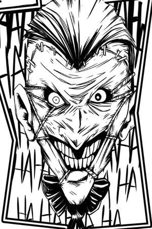 #DCTattoos #dccomics #JokerTattoos #Joker #batman #batmanjoker