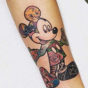 Disney mickey #disney #disneytattoo #disneytattoos
