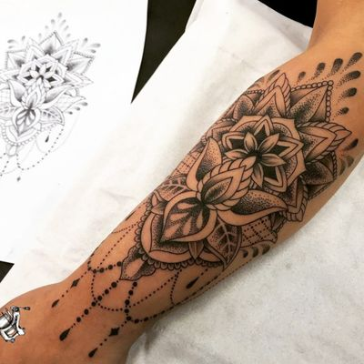 Lotus and Mandala for Charv. Her first tattoo in a few years and she sat like an absolute rock. Such a great piece to design and work together on. Thank you for allowing us to give you this new piece for your collection. Next Chapter Tattoo & Piercing Studio 24 Abbotsbury Road Morden Surrey SM4 5LQ ☎ 0203 8374908 💻 www.nextchaptertattoo.com #mandala #Tattoo #TattooDesign #CustomTattoo TattooArtist #LotusFlower #LotusTattoo #dotwork #dotworkTattoo #Tattoodo #Art #Design #Morden #London #TattooLondon #Tatuagem #Tats #Tattooink #Girlswithtattoos #BodyArt #BodyModification #Mandalatattoo #TattooLife #Tattoos #Tattoosofinstagram #Instatat #Wip #MordenHallPark #MordenTubeStation #TattooStudio