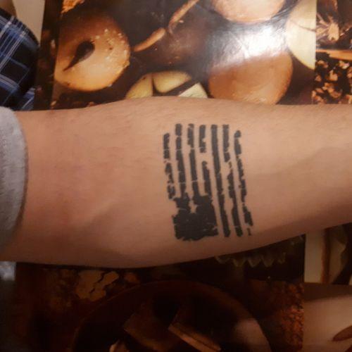 USA :) #flag #tattooed #armtattoos