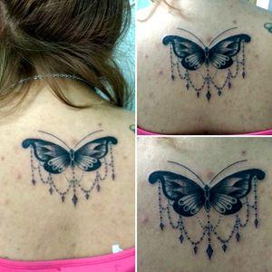 #buterflytattoo #buterfly #black #mariposa #linework #lines