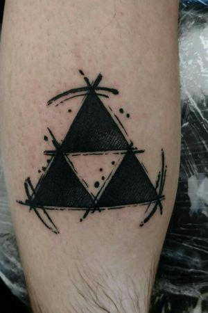 Zelda triforce