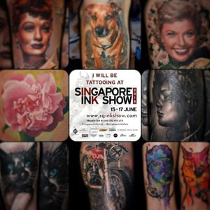 Still some time available at @singaporeinkshow Book inkedbymario@gmail.com Thanks