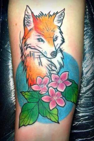 #me #tattoo #foxtattoos