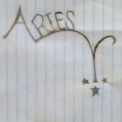 Design for Aries lettering Tattoo #aries #ariestattoo #zodiactattoo #zodiacsign #zodiac #sketch #arien (Artist: Me) If you get this tattoo done. Please tag me in the pic.