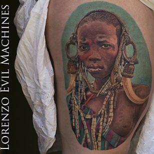 #portrait #Africa #color #LorenzoEvilMachines