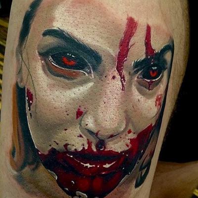 Artist Roman Kuznetsov will be returning to Skinscapes from January 22nd through January 26th. #romankuznetsov #Russia #russianart #art #tatoo #tattooart #tattoolife #tattooist #tattooing #bodyart #horrortattoo #horror #vampire #realistictattoo