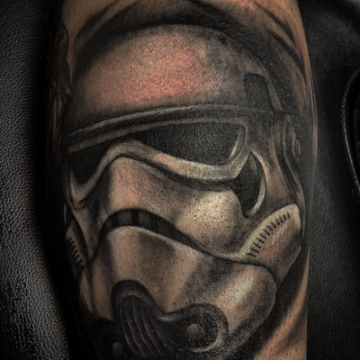 Another trooper inked by the rebels!!! #stormtrooper ink stormtrooper tattoos #badasstattoos