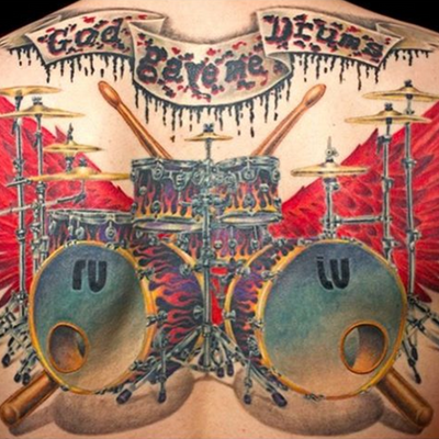 #AllStyle #allstyletattoo #berlin #drums #music #msnico #missnico