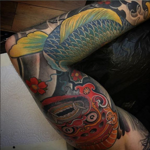 Done by TomTom #asian #color #traditionalart #traditional #sleeve