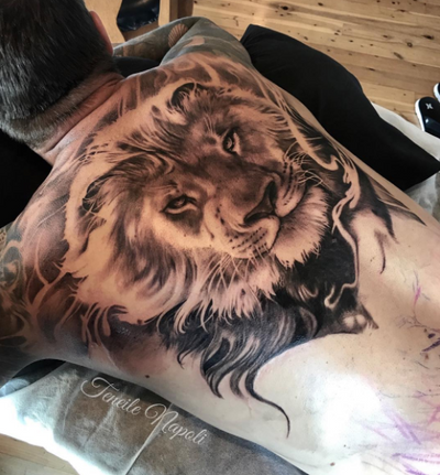 🦁 #liontattoo #lion #heart #love #strength #courage