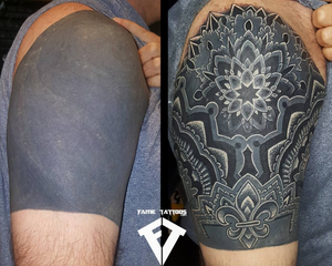 Black out fix up Done Here at💥 @FAMETATTOOS.💥 🌟COME CHECK OUT THE BEST TATTOO SHOP IN MIAMI.🌟 #tattoo #tattoos #tattooed #tattoolife #tattooedlife #tattooedguys #tattooedgirls #tattoocommunity #tattoolovers #ink #inked #inkedup #inklife #inkedlife #bodyart#amazingink#inkedup#miamitattoos #miami#besttattoosinmiami #miamitattoos#blackouttattoo
