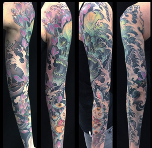 Tattoo made by @Wendy_Pham at @Taiko_Gallery #sleeve