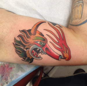 #traditional #color #traditionaltattoo