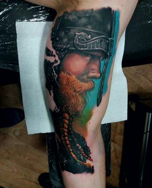 #worldfamousink #tattoosociety #tattoo #aberdeentattoo #Aberdeen #inkmachinesstingray #viking #ostrów #tattoos #tattooartist #tattooart #vikingtattoo #tatuaż #polska #inkmachines