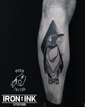 Pingu 🖤🐧🖤 #blackwork #blacktattoo #blackink #darkwork #abstracttattoo #abstractart #dotwork #dotworktattoo #pinguin #pinguintattoo #ironink #sorrymomaftercare #vejle #denmark